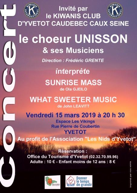 Unisson affiche yvetot 15 mars 2019